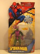 MARVEL SPIDER-MAN GREEN GOBLIN GLIDER RIDING SUPER VILLAIN ACTION FIGURE HASBRO