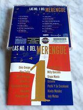 Las No 1 Del Merengue CD 2006 Sony Elvis, Crespo Olga Tañon Celia Cruz MUY RARO!