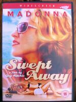 Swept Away DVD 2002 Madonna Castaway Shipwreck Romantic Drama Remake