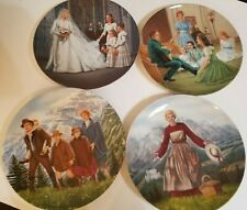 Sound of Music Vintage Knowles Collector Plates (4) 1986-87