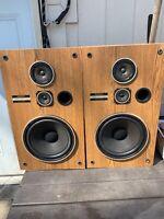 Vintage Pioneer CS-G203 3-Way Speakers Tested
