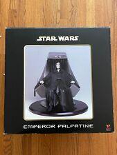 Attakus Emperor Palpatine Statue Sculpture Mint / New Darth Vader Star Wars