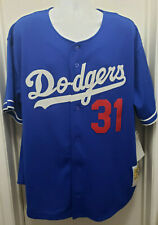 Los Angeles Dodgers Mitchell & Ness Mike Piazza MLB Baseball Jersey Size 2XL