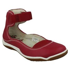 LADIES MERRELL J35236 LORELEI BAND HOOK LOOP ANKLE STRAP SHOES PERSIAN RED SIZE