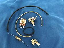Upgrade Wiring Kit Fits Les Paul Jr Short Shaft Pots PIO K40Y Vintage Tone Cap