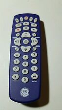 GE PURPLE UNIVERSAL REMOTE CONTROL FOR ALL MAJOR BRANDS 4 DEVICES AUDIO/VIDEO