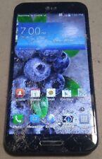 LG Optimus G Pro E980 (AT&T) 32GB Black - LCD FLICKERS - FULL FUNCTIONS