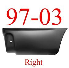 04 08 F150 Rear Lower Bed Patch Set Panel With Holes 1988-131 1988-132