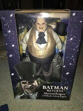 The Penguin Oswald NECA 1/4 Scale Batman Returns Mayoral HTF MIB Action Figure