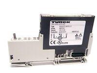 Turck BL20PF-24VDC-D Electronic Power Feeding Module w/ Terminal Block Din Rail