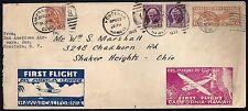 US HAWAII 1935 FIRST FLIGHT ROUND TRIP CALIFORNIA HAWAII & BACK HAWAII CALIFORNI