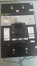Square D MHL3660033DC 3 POLE 600 AMP 600 VOLT Circuit Breaker- 1 YEAR WARRANTY