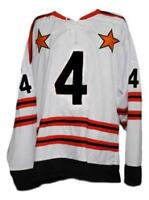 Any Name Number Size All Star Custom Retro Hockey Jersey White Bobby Orr