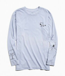 small mens Urban Outfitters Peanuts snoopy re.purpose recycle ling sleeve tee