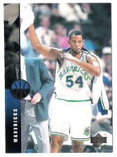 Popeye Jones 1994 Upper Deck Dallas Mavericks insert Basketball Card no.137
