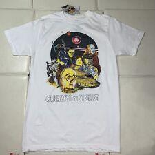 D5 RARE Disney Guerra Di Stelle Star Wars Rare Retro T-Shirt Disney Italian M