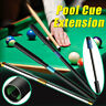 Aluminum Telescopic Snooker Billiard Pool Cue Extender Extension Sleeve  UK