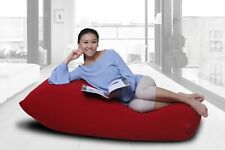 COMFY Middle Bean Bag Chair Portable Lounger Big Sofa in Blue Grey Navy Blue Red