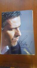 JOSE MOURINHO 16x12 INCH AUTOGRAPHED SIGNED PHOTO  PHOTO