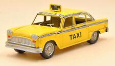 Home Decoration Vintage Antique Metal Decorative Model Car Vintage Taxi Decor