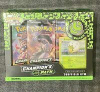 Pokemon Champion's Path Turfield Gym Pin Collection Set Box