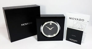 Movado MBK000210M Rotating Clock and Photo Frame. A Brand-new, Unused.