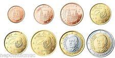 1Cent - 2Euro Kursmünzen 2014 Spanien lose