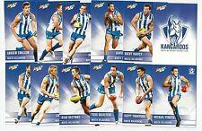2012 Champions NORTH MELBOURNE Team Set