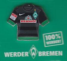 Werder Bremen  Pin / Pins: Trikot Pin - schwarz - Wiesenhof -  Bundesliga Patch