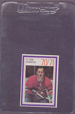 1970-71 Esso Hockey Stamp Yvan Cournoyer Montreal Canadiens