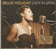 BILLIE HOLIDAY LADY IN SATIN 2CD BOX SET