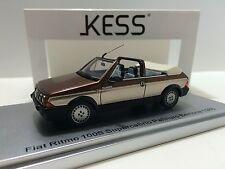 Kess Model 1/43 Fiat Ritmo Bertone 100s Cabrio Palinuro  Open 1985  KE43010040
