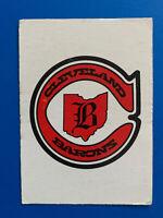 Cleveland Barons 1977-78 O-Pee-Chee Hockey Card Logo OPC Team Record Card #326