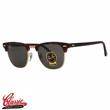 RAY-BAN ORIGINAL CLUBMASTER SUNGLASSES RB3016 W0366 Tortoise Frame 49MM