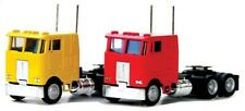 Herpa # 25246 Peterbilt 362E Cabover w/Dual Rear Axles - Assembled  Red  HO MIB