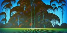 """Eyvind Earle """" forest bouquet """" Hand signed numbered Serigraph 1996"""