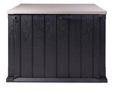 Ondis24 Mülltonnenbox anthrazit Storer 750 Liter Aufbewahrungsbox abschließbar