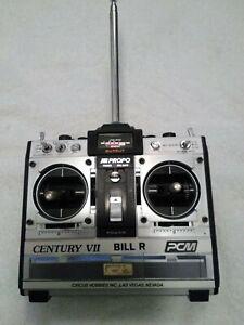 JR PROPO Century VII  PCM Radio Transmitter 72.750 Mhz with battery