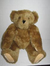 "Original Vermont Teddy Bear Company Jointed Beautiful Plush Toy Animal 16"""