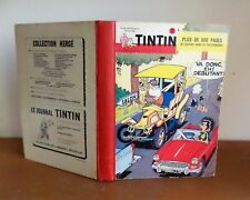 Reliure editeur Journal de TINTIN N°72 edition belge de 1966 BE