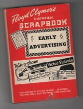 Floyd Clymer's Historical Scrapbook Early Advertising 1950 Bonanza Books