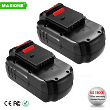 2 Pack 18V NiCd Replacement Battery for Porter Cable PC18B 18-Volt Cordless Tool