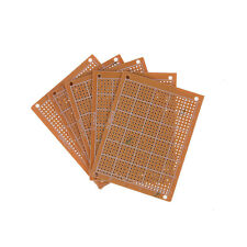 5Pcs/set 7x9cm DIY Prototype Paper PCB Universal Board 1.2mm Thick、Fad