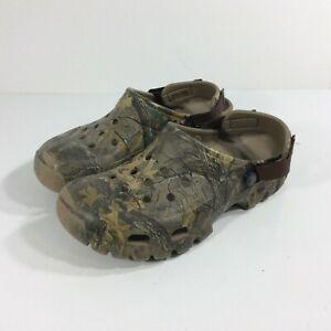 Crocs Men's Size 9 Camo Rubber Clogs