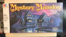 Milton Bradley MYSTERY MANSION Game 1984