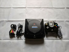 Sega Sports Black Custom GDEMU Dreamcast Console w/ 3D Printed Tray, 32g SD Card