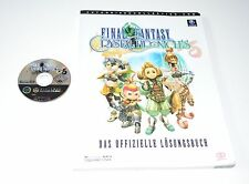 Nintendo Gamecube / Wii Spiel FINAL FANTASY CRYSTAL CHRONICLES + LÖSUNGSBUCH