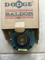 NEW DODGE BALDOR FC-DL-107 SIZE 1-7/16 FLANGE BEARING.