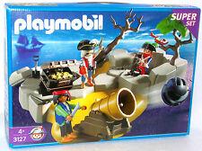 PIRATEN INSEL SUPER SET Playmobil 3127 v.`01 zu Piratenschiff FRANZOSEN OVP NEU