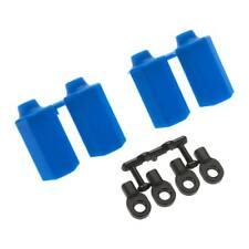 NEW RPM Shock Shaft Guard Blue Traxxas Nitro Slash (4) 80405